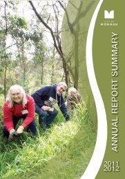 Annual Report Summary 2011 - 2012 - City of Monash