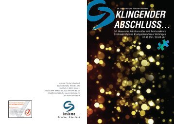 Flyer zum Herunterladen - insieme   Zürcher Oberland
