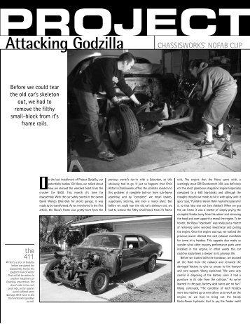 Project Godzilla - Chris Alston's Chassisworks