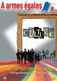 Culture - La fédération des Clubs de la Défense