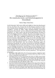 """""""Erledigung der Schmutzarbeit""""? Die sowjetischen Justiz- und - gulag"""