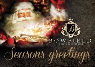 christmas day - Bowfield Hotel and Country Club