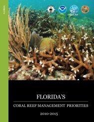Florida's Coral Reef Management Priorities - NOAA's Coral Reef ...