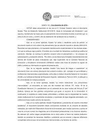 Plan de Desarrollo Institucional 2010-2019 - Universidad Nacional ...