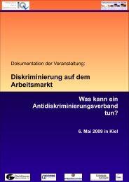Diskriminierung auf dem Arbeitsmarkt - access