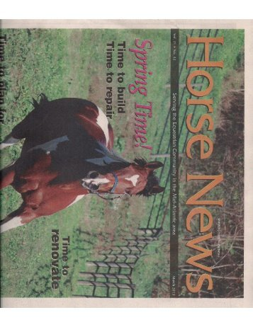 Horse News - March 2013 - Phelps Media Group