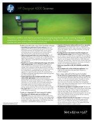 HP Designjet 4500 Scanner