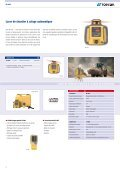 CATALOGUE LASER - Topcon Positioning - Page 3