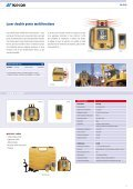 CATALOGUE LASER - Topcon Positioning - Page 4