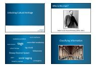 Lecture 8 - Social tagging - it-lab