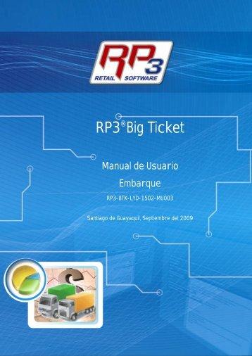 Embarque - RP3 Retail Software
