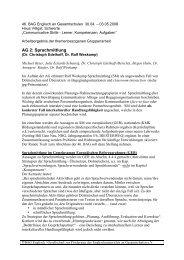 AG 2 Arbeitsergebnisse (PDF) - BAG Englisch an Gesamtschulen