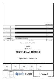 TENDEURS A LANTERNE - Infrabel