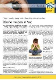 PTE Aktuell Nr. 17 Februar 2012 - Lerntherapie