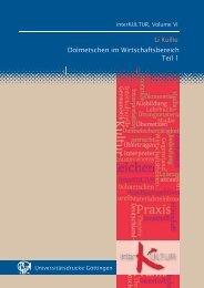 Dolmetschen und Übersetzen im Wirtschaftsbereich, Teil 1