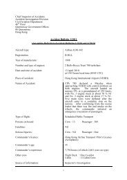 Accident Bulletin 1/2011 (An update Bulletin to Accident Bulletins 1 ...