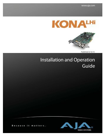 Installation and Operation Guide - UT Austin Wikis