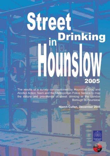 Street drinking in Hounslow [PDF]