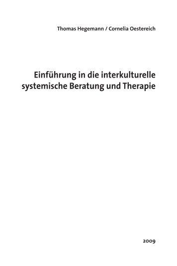 Einführung in die interkulturelle systemische ... - Carl-Auer Verlag