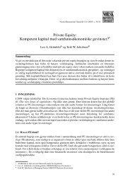 Grunfeld & Jakobsen nr 1 2007 - Samfunnsøkonomene