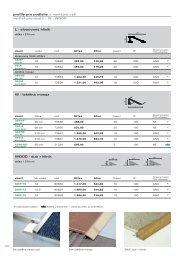 Page 1 108 L - eloxovaný hliník délka = 270 cm zboží výška kód Kč ...