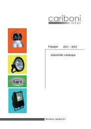 Cariboni Industrieel 2011-2012.indd - Mato Verlichting Nijmegen