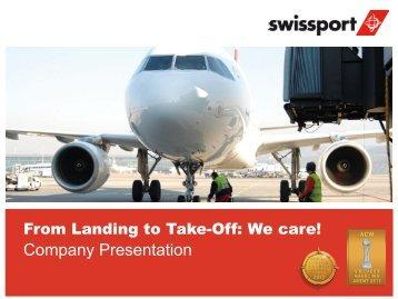 ca. 3-6 months Timeframe: ca. 3-6 months Timeframe - Swissport
