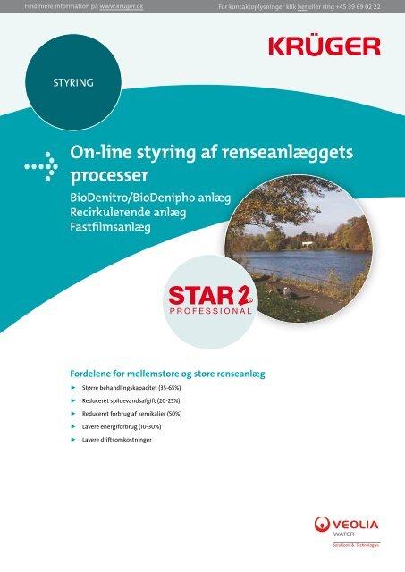 On-line styring af renseanlæggets processer - Krüger A/S