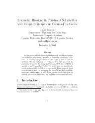 Symmetry Breaking in Constraint Satisfaction with Graph ... - Rutcor