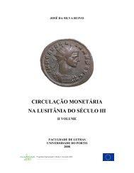 CIRCULAÇÃO MONETÁRIA NA LUSITÂNIA DO SÉCULO III - Numismatas