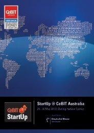 StartUp @ CeBIT Australia