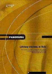 Lifelong learning in Italy - Cedefop - Europa