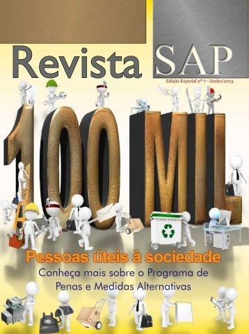 Pessoas úteis à sociedade - SAP - Governo do Estado de São Paulo