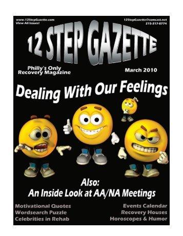 March 2010 - 12 Step Gazette