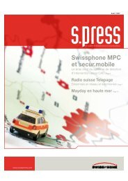 s.press 2007/1 - Swissphone