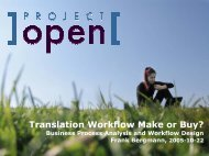 Business Processes & Workflow - Project Open