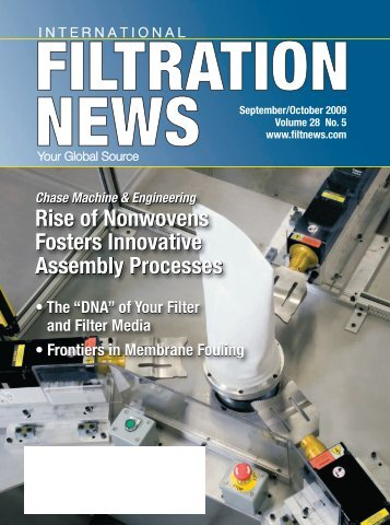 Rise of Nonwovens Fosters Innovative Assembly ... - Filtration News