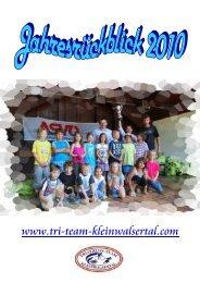 Jahresrückblick 2010