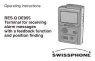Manual - Swissphone
