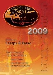 Camps & Kurse - Bibertours