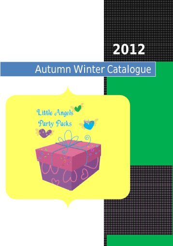 Autumn Winter Catalogue - Little Angels Party Packs