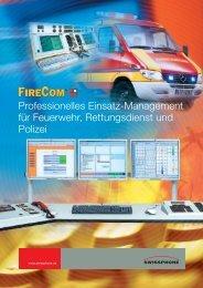 FireCom Prospekt - Fahrzeugelektronik-Schneider