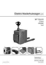 Elektro-Niederhubwagen Levio LPE200I - Toyota Material Handling ...