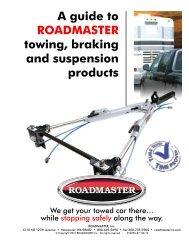 tow bars - Roadmaster Inc.