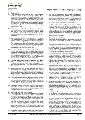 Inhaltsverzeichnis Abschn