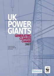 UK power giants generating climate change 2007 - Centrica
