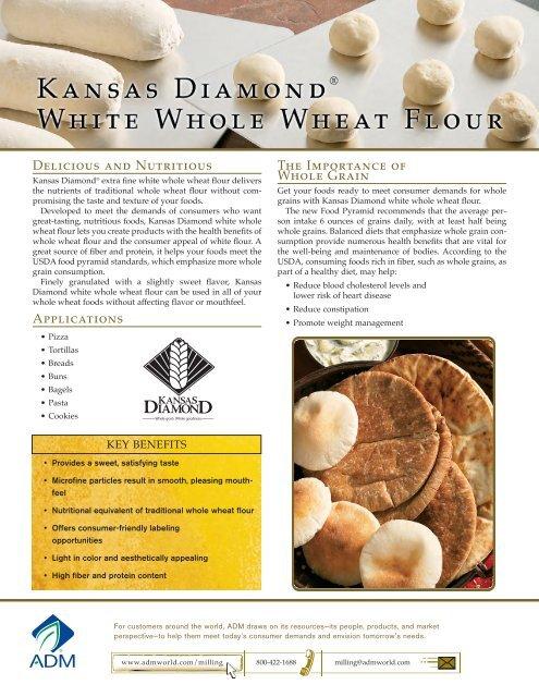 Kansas Diamond White Whole Wheat Flour - ADM