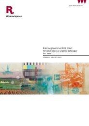 Dokument 3:2 (2012-2013) - Riksrevisjonen