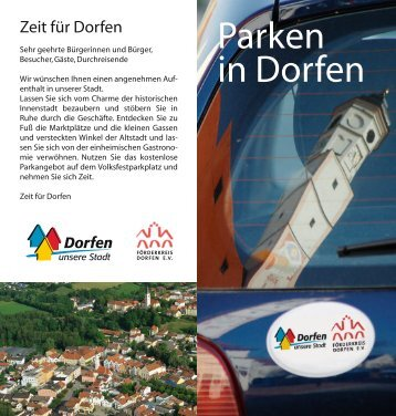 Parken in Dorfen - Jakobmayer