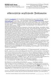 völkerrechtliche verpflichtende Proklamation - Freeman on the land